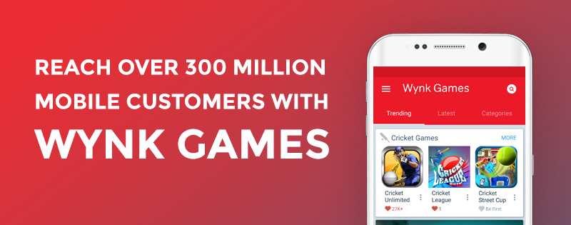 Playphone launches Wynk Games- a subscription gaming service in India